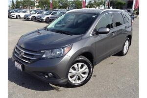 2014 HONDA CR-V EX-L AWD - LEATHER - SUNROOF - REARVIEW CAM