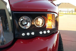 LED headlights and taillights for 2004 Dodge Ram 2500