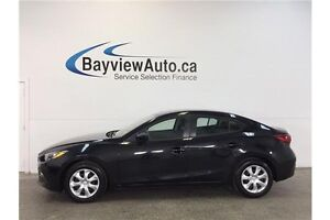2016 Mazda 3 SPORT- AUTO! PUSH BUTTON START! SKYACTIV! CRUISE!