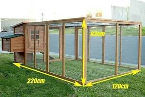 Large Chicken Coop with Run Package Deal Osborne Port Adelaide Area Preview