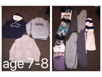 Age 7-8 bundle of clothes