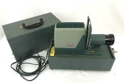 Vintage Argus 300 Projector with Case and Working Bulb