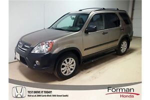 2006 Honda CR-V SE - Nice! Alloy wheels | Roof Rack