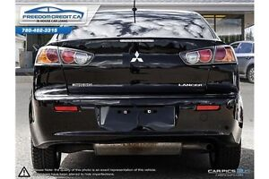 2011 Mitsubishi Lancer Black and Fast... Get Financed with us!! Edmonton Edmonton Area image 5