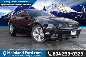 2013 Ford Mustang GT LOCALLY OWNED, 1 OWNER, LOW KM'S