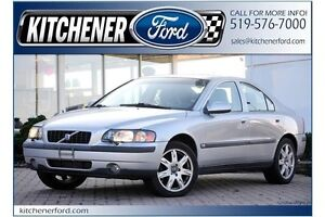 2003 Volvo S60 T5 LEATHER/SUNROOF/DUAL CLIMATE/CLEAN COND.INS...