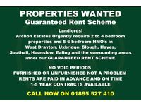 Guaranteed Rent for your flat or home!