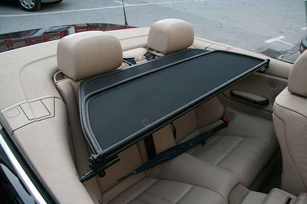Bmw E46 Cabriolet 2000-2007 Wind Deflector New