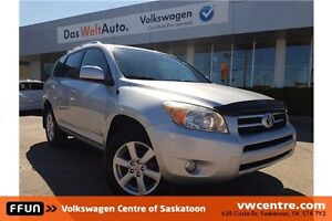 2007 Toyota RAV4 Limited LOCAL TRADE, PST PAID