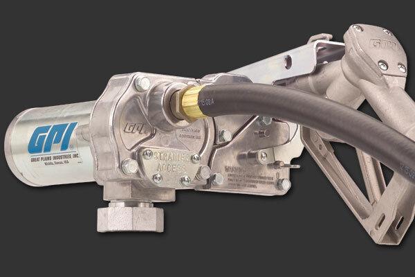 GPI M150S-ES 12V DC 15 GPM Fuel Diesel GasTransfer Tank Pump Model 110000-107