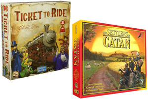 Looking for Settlers Of Catan Or Ticket To Ride
