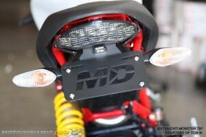 17-18 Ducati Monster 797 797+ Fender Eliminator Tidy Tail + LED License Light