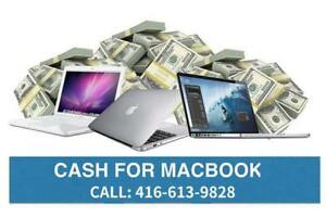 Sell Macbook Pro / Air - Mississauga / Peel Region - Most Cash