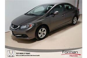 2013 Honda Civic LX - Certified   Htd Seats   Remote Start