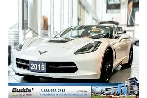 2015 Chevrolet Corvette Stingray LOW MILEAGE, ONE OWNER PRIST...