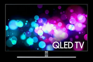 New Samsung 55 inch 4K HDR QLED smart tv Model: QN55Q7FAMFXZC
