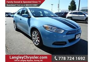2013 Dodge Dart SXT/Rallye W/POWER GROUP & A/C