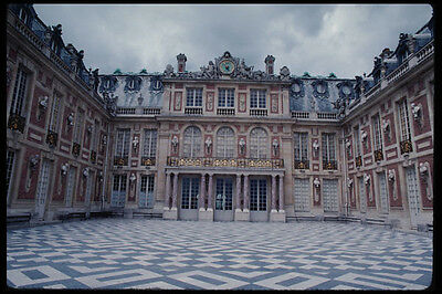 - 223095 Marble Courtyard In Versailles Louis XIVs Palace A4 Photo Print