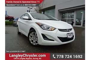 2015 Hyundai Elantra GL ACCIDENT FREE w/ BLUETOOTH & HEATED S...