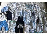 Boys clothes bundle 3-6 months baby grows Zara John Lewis Humphrey's corner next boots mamas papas