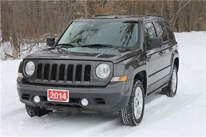 2014 Jeep Patriot Sport/North   4x4   CERTIFIED + E-TESTED