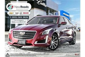 2016 Cadillac CTS 3.6L Luxury Collection 3.6L AWD LUX   NAV,...