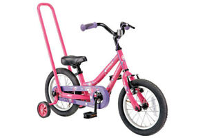 Supercycle Kickstart Kids' Bike, Pink, 14-in