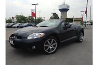2008 MITSUBISHI ECLIPSE SPYDER GT SPORT - CONVERTIBLE - MANUAL