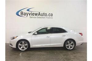 2015 Chevrolet MALIBU LTZ- TURBO! SUNROOF! NAV! BLINDSPOT ALERT!