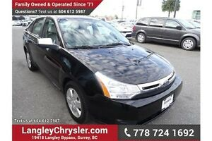 2008 Ford Focus SE W/POWER GROUP, HEATED SEATS & A/C