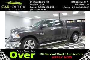 2016 RAM 1500 BIG HORN CREW 4X4 - LOW KMS*REMOTE START*U-CONNECT