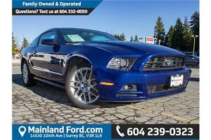 2014 Ford Mustang V6 Bluetooth- Cruise control- Low km
