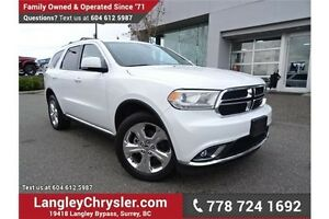2015 Dodge Durango Limited W/ NAVIGATION & DUAL DVD ENTERTAIN...