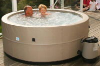 New Deluxe Portable Hot Tub from The Cover Guy