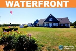 Exquisitely appointed WATERFRONT home in Lyons Brook