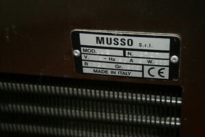 commercial batch ice cream maker by Musso made in Italy Kawartha Lakes Peterborough Area image 2