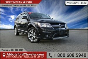 2014 Dodge Journey R/T ACCIDENT FREE!