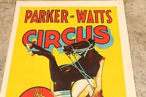 Original Vintage Advertising Poster/Sign 1930's Parker & Watts Edmonton Edmonton Area image 4