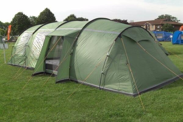 Vango Tigris 800 Large Family Tent & Vango Tigris 800 Large Family Tent | in Stocksfield ...