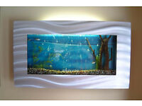 slimline wall mounted fish tank