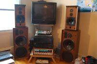 Haut parleur B&W DM4 speakers