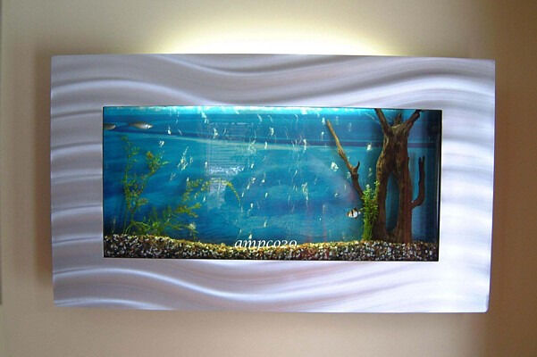 Slimline wall mounted fish tank in quinton west for Wall mounted fish tanks