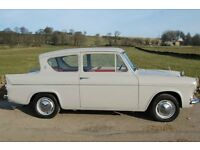 FORD ANGLIA 105E 123E WANTED IN ANY CONDITION FROM IMMACULATE TO GARAGE/BARN FINDS