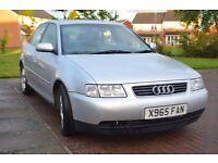 Audi A3 sport 1.8 Petrol ,Mot Till 1 August Good Loking CAR !