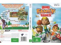 NINTENDO WII 24 GAMES IN ONE, IN THE BIG FAMILY GAMES