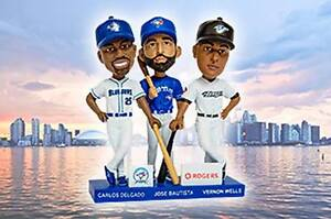 Blue Jays May 29 Section 228 Infield - Trio Bobblehead Day