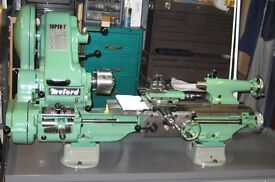 Wanted myford super 7 lathe