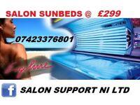 sunbeds salon machines