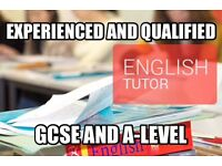 Private English Tutoring/Tuition GCSE and A-Level