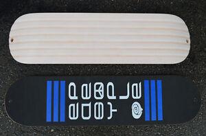 Easy People TSP2 SNOWSKATE Mini Snowboard Skateboard Deck&Leash'